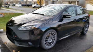 2013 Focus ST - 5dr - Black on Black - Lots of Extras
