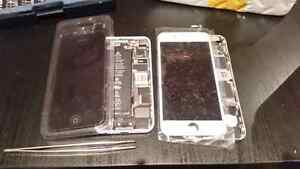 Iphone 6 plus screen repair service delivery $135 ON SPOT NO TAX