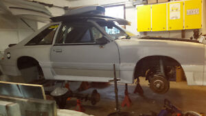 Mustang project drag car