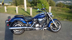 2011 VStar 950 only 500km with Quick Release Lockable Windshield