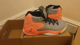 Nike Air Jordan Melo M12 Hyper Orange UK 11