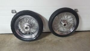 Rims with wheels