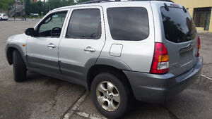 2002 Mazda Tribute SUV, Crossover