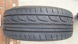 A pair of Good condition Bridgestone Potenza tires for
