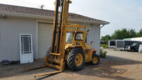 Heavy Duty Outdoor Forklift Ford 550