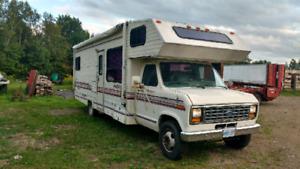 Motorhome, 30' travelmaster with generator.