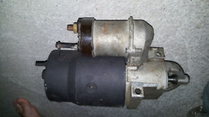Small Block Chevy V8 Starter. Pretty much new. Staggerd bolt