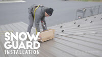 Roofers - Snow guard installers on metal roof NEEDED