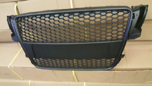Audi A5 S5 RS5 STYLE BLACK GRILLE 2008 2009 2010 2011 2012