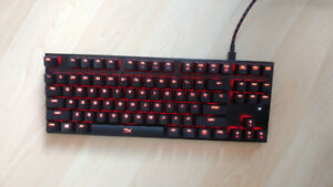 HyperX Alloy FPS Pro Mechanical Keyboard - Cherry MX Red, Red LE
