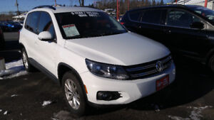 2017 Volkswagen Tiguan 4 motion, 2.0 with 16.500 km @ wheels and