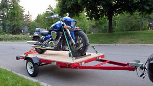 $50 TRAILER MOTORCYCLE TOWS