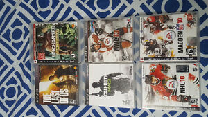 PS3 games - $20 for all
