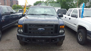 2008 Ford F250 XL SD 4X4 CREWCAB 8FT BOX