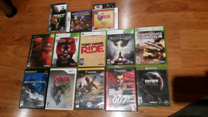 Video games for sale: