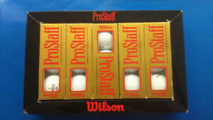 New Box of ProStaff GOLD Golf Balls