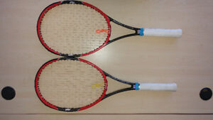 2 Wilson Pro Staff 97LS 2015 Used Racquets for $150
