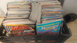 tons of car mags