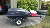 Motorcycle Travel Trailer