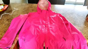 Northface adult XS pink windbreaker jacket.