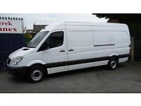 ONLY 82000 Miles Mercedes-Benz Sprinter 313 Cdi 4.3 Meter Van Long Wheel Base,