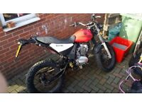 Spares or repair.suv xf125 cpi 2013plate