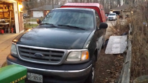 2003 F150 8 foot box 2wd cap ladder rack