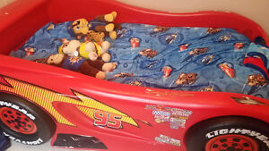 Cars twin bed for sale.