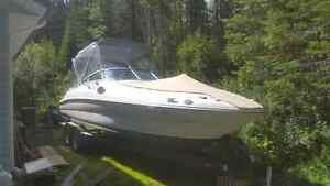 2001 sea ray 240 sundeck decked out for fishing