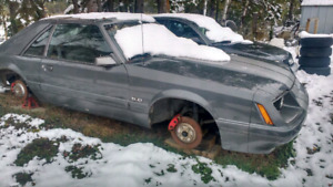 1986 FoxBody Mustang GT **PROJECT**