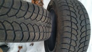 "A Pair of 215/55/16"" Winter tires"