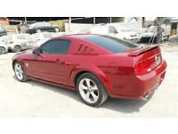 2009 FORD MUSTANG 4.6 V8 GT RARE MANUAL LEFT HAND DRIVE LHD FRESH IMPORT