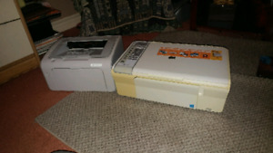 2 HP printers (good condition)