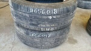 Pair of 2 Michelin Premier LTX 265/60R18 tires (40% tread life)