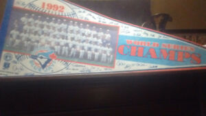 1992 BLUE JAYS Champion PENNANT