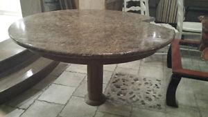 Table de granit