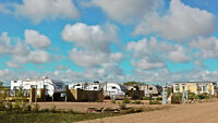 Serviced RV Lots on popular, well managed lakeside development
