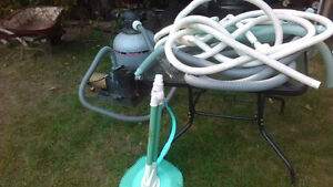 Hayward pump and sand filter plus hoses