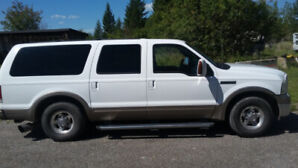 2005 Ford Eddie Bauer excursion with 2002 cummins engine Swap.