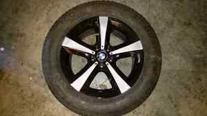 A set of 4 OEM BMW wheels off X5