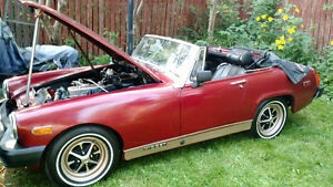 MG Midget in mint condition