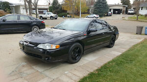 2003 Chevrolet Monte Carlo SS Custom Wheels and Wrap! Strathcona County Edmonton Area image 1