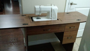 Kenmore Sewing Machine & Cabinet