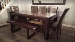 Urban Barn dining set - $250 (582 West 27 avenue)