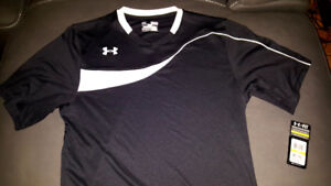 Under Armour shirts Med and large