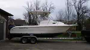 2003 Sea Fox package Walk around Hardtop Offshore fishing boat