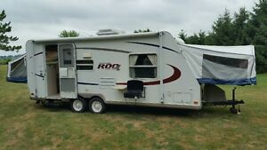 23' ROCKWOOD ROO 232SS POWER SLIDE SLEEPS 9 BAD CREDIT FINANCING
