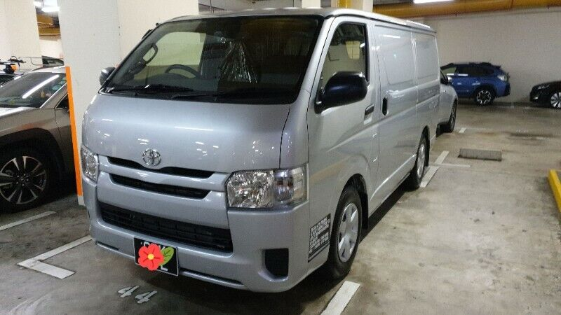 Brand New Toyota Hiace for Rent