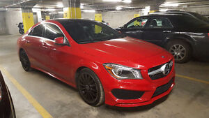 CLA 2014 4Matic rouge Mags Noirs 27900$