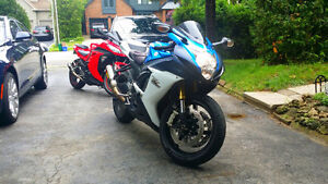 2012 GSXR 750CC // MATCHING JACKETS AND HELMET //  MODS